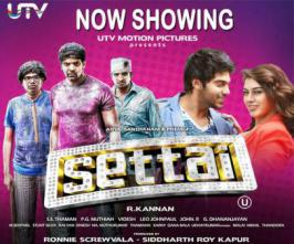Arya's upcoming comedy entertainer 'Settai' is gearing up ready for hit the screens on  April 5th with   515 screens on world wide