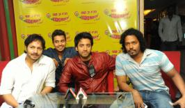 View Intinta Annamayya Team at Radio Mirchi Stills,Intinta Annamayya Team at Radio Mirchi Latest Pictures,Telugu Intinta Annamayya Team at Radio Mirchi Image Gallery,Telugu  Intinta Annamayya Team at Radio Mirchi Photos