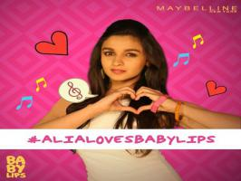 Watch Video: Alia Bhatt shared kiss with fans in Baby Lips Kiss Song | Bollygupshup.....