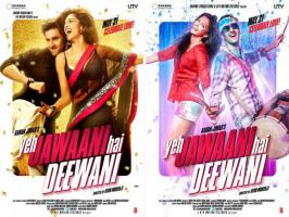Mumbai: Bollywood chocolaty boy Ranbir Kapoor and Deepika Padukone have made a come-back together in upcoming filck 'Yeh Jawani Hai Deewani'...