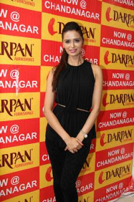 Actress Meenakshi Dixit ,Meenakshi Dixit,Meenakshi Dixit at Darpan Furnishings