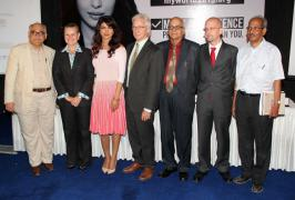 Priyanka Chopra Launches UNICEFs Mobile App Stills,Hindi Priyanka Chopra Launches UNICEFs Mobile App Photos,Priyanka Chopra Launches UNICEFs Mobile App Pics