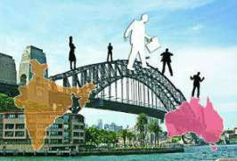 India and China have replaced Britain as the main sources of new immigrants to Australia, reports said on Tuesday. Nearly 30,000 Indians migrated to Australia between July 2011 and June 2012, 15 per cent of the total intake of 1,85,000.