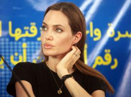Angelina Jolie\'s got a heart as big as the world. Obviously not one to let her own health problem...