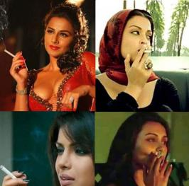 Cigarettes were a big NO in Bollywood films, until last year, when the Supreme Court removed the ban, hence permitting filmmakers
