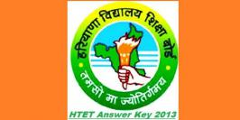 The HBSE HTET 2013 Result will announce at the Official Website of HBSE HTET (Haryana Board of Secondary Education), htet.nic.in.