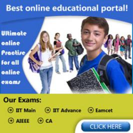 ExamHook is an exclusive online examination portal for IIT JEE. We provide IIT JEE (Main/Advance), EAMCET, AIEEE, CA Study material and online practice. URL: http://www.examhook.com