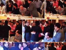 Shocked!! Shahrukh and Salman Khan hugged each other. Read on to know more...