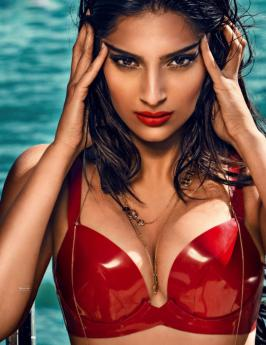Sonam Kapoor GQ India Aug 2013 Magazine Hot Photoshoot, Check out Actress Sonam Kapoor  Latest Hot Photoshoot GQ India Aug 2013 Magazine, Sonam Kapoor GQ India Aug 2013 Magazine Hot Photo Scans