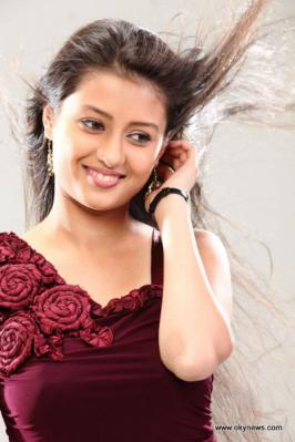 Kanika Tiwari with Red color
