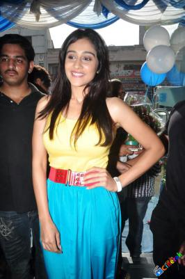 Regina Cassandra Latest Photos at Yesmart Electronic Store Launch, Check out Actress Regina Cassandra Photos in Yellow Top at Yesmart Electronic Store Launch, Regina Cassandra Launches Yesmart Electronic Store in Secunderbad