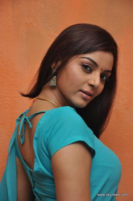 Maayai Movie Actress Sanam in Saree
