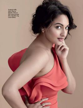 Sonakshi Sinha Photoshoot For Marie Claire Magazine - Replay Run