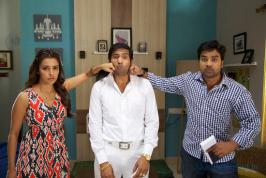 Vanakkam Chennai is an upcoming Indian Tamil comedy film written and directed by debutant Kiruthiga Udhayanidhi. Produced by Udhayanidhi Stalin under the banner Red Giant Movies, the film features Shiva and Priya Anand in the lead roles along with Santhanam.