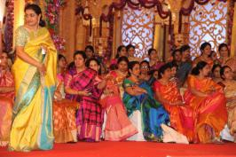Celebs at Balakrishna Daughter Tejaswini Wedding Photos, Balakrishna Daughter Tejaswini Wedding Photos, Balakrishna Daughter Tejaswini marriage Photos, Balakrishna Daughter Tejaswini marriage , Balakrishna Daughter marriage photos, Balakrishna Daughter marriage
