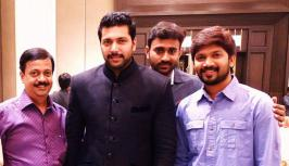 Jayam Ravi Sister in Law Wedding Reception Photos, Actor Jeyam Ravi Sister in Law Wedding Stills, Kushboo, Rahika, Prabhu, Nassar, Venkat Prabhu, Karthi, Abhi Saravanan, Events Pics