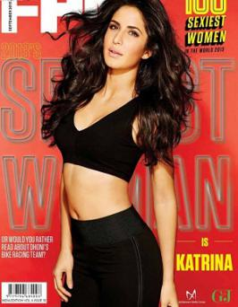 Katrina Kaif Latest Hot Photoshoot for FHM 2013 Magazine