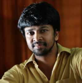 Lyricist Mahdan Karky found it excited and happy that he happened to listen to his third song for Viram�s Ai composed by AR Rahman. Recently son of Vairamuthu tweeted, �Recorded my 3rd song for #Ai recently. Was happy to hear from Rahman sir & Shankar sir that they found #iDhaaba�s #PrayerSong