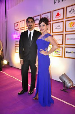 Samantha And Siddharth At Food For Change Charity