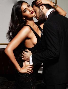 Sonam Kapoor GQ Men of the Year Oct 2013 Magazine Hot Photoshoot