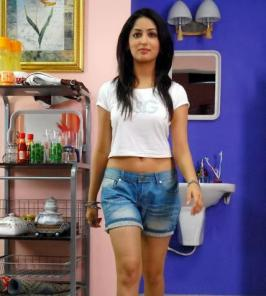 Yami Gautam Hot Photos in Shorts