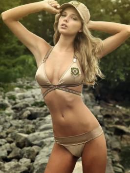 Danielle Knudson Latest Hot Bikini Photoshoot Stills
