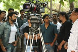 Surya And Lingusamy New Movie On Location Photo Gallery, Suriya And Lingusamy New Movie shooting spot stills, Suriya And Lingusamy New Movie Red Dragon Camera pictures, Suriya And Lingusamy New Movie photos, images, pics,