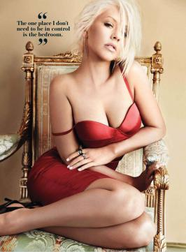 Christina Aguilera Maxim Oct 2013 Magazine Hot Photoshoot