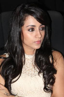 Actress Trisha At Endrendrum Punnagai Audio Launch Stills, Trisha At Endrendrum Punnagai Audio Release Function pictures, Trisha At Endrendrum Punnagai Movie Music Launch photos, images, pics,