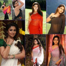 Nayanthara in saree- Hot Photos, Tollywood Hot Herione Nayantara latest stills in Saree collections, Nayantara hot in saree photo stills, Nayan hot saree stills