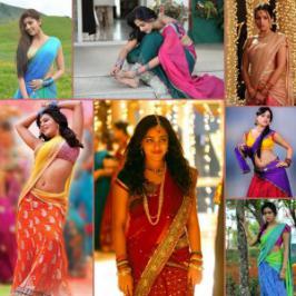 South Actresses in Half Sarees-Hot Pics . Hot South Actresses in Half Sarees Hot Pics� from Way2movies. Tollywood heroines saree pics gallery