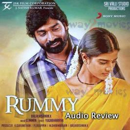 Rummy is the upcoming Tamil film that casts Vijay Sethupathi and Gayathrie Shankar in the lead roles. K. Balakrishnan has directed Rummy under the production of Sri Valli Studios