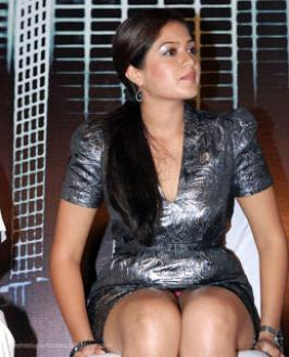 Meghana Raj Hot Panty Show Stills