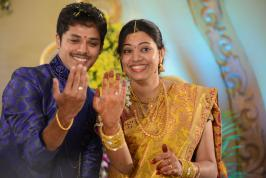 Geetha Madhuri Singer, Nandu Actor, Geetha Nandu Engagement, Geetha Marriage, Nandu Geetha Marriage, Tollywood Events