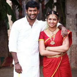 Vishal's Pandiyanadu released on 2nd November for Diwali is successfully running with positive talk. Now Vishal Film Factory has sold out the Pandianadu satellite rights to Raj TV for a fancy price.