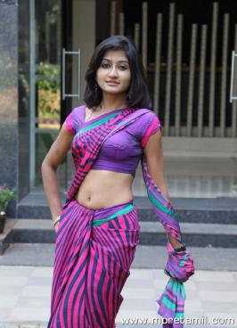 Akshaya Latest Hot Saree Stills at Adhee Lekka Success Meet, Akshaya Hot Saree Photos, Akshaya Hot Saree Pics