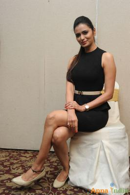 Meenakshi Dixit at Adavi kachina Vennela Movie Poster Launch
