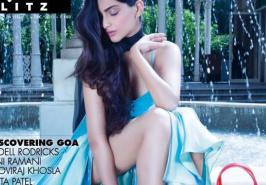 Sonam Kapoor Hi! Blitz 's Magazine December 2013 photoshoot