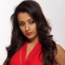 Actress Trisha Krishnan, known for southern films such as