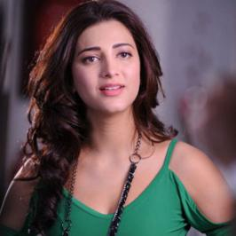Actress Shruti Haasan is down with a