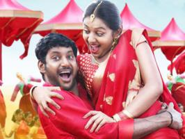 Actor-producer Vishal Krishnan aka Vishal, who is busy with his upcoming hero cum production venture Naan Sigappu Manithan is said to have done a lip-lock scene with Lakshmi Menon for the film.