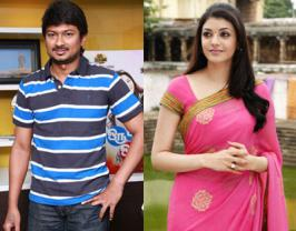 Producer and actor Udhayanidhi Stalin will be sizzling with Kajal Agarwal in their upcoming Tamil film titled Nanbenda.