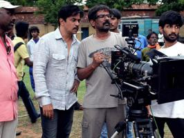 Tamil actor Arjun Sarja, who is busy directing as well as playing the lead in