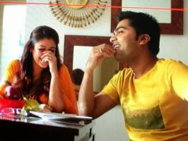 Nayantara and Simbu, a beautiful pair to look on-screen has paired up again after seven long years, which is no more a news. But shockingly the duo known for their professionalism kept calling each-other with pet names.