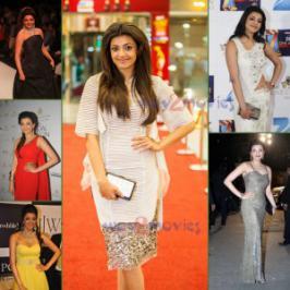 Kajal Agarwal Rare pics at Events, South Film Industry Beautiful Actress Kajal Agarwal
