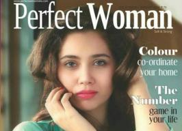 Sasha Aagha Perfect Woman Magazine January 2014 Photoshoot - Bollywood Aajtak