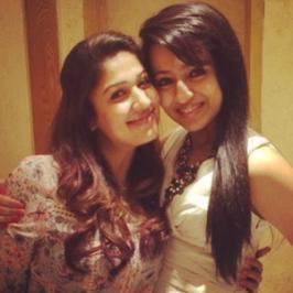 Ace South Indian actresses Trisha Krishnan and Nayantara partied together this Sunday and named it an Epic night.