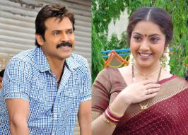 Venkatesh, Meena and Nadhia have been roped in to play important roles in the Telugu remake of recent Malayalam blockbuster Drishyam
