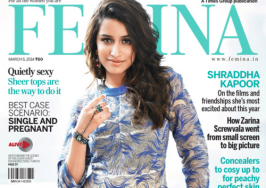 Shraddha Kapoor Femina India March 2014 Photoshoot - Bollywood Aajtak