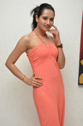 Sunita Rana Pink Dress Photo Stills.....